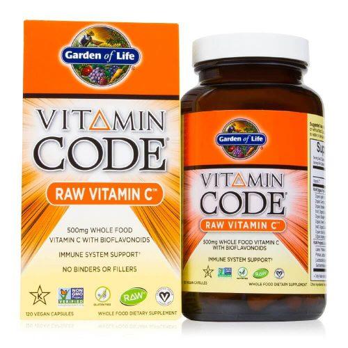 Vitamina C RAW şi Organică