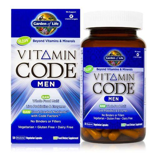 Complex de vitamine raw pentru barbati