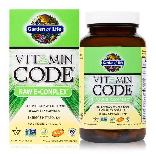 Complex vitamine B raw si organic