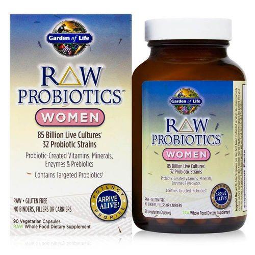 Probiotice RAW pentru femei