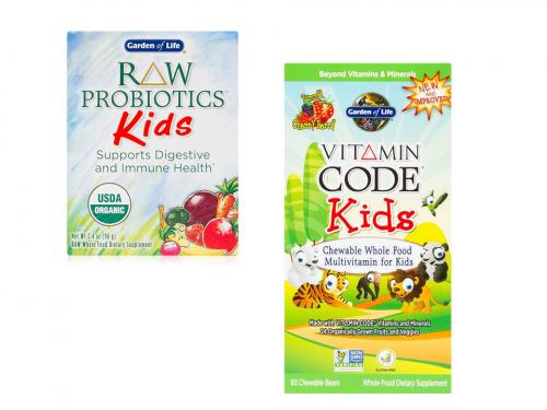 Pachet Multivitamine si Probiotice RAW Copii Voiosi